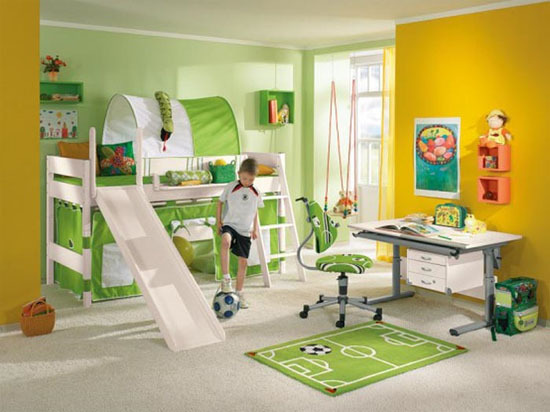 Interior teen room design