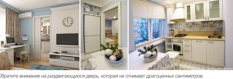 Repairs to Khrushchev: beautiful finish kitchen, bedroom, living room, examples, videos and photos
