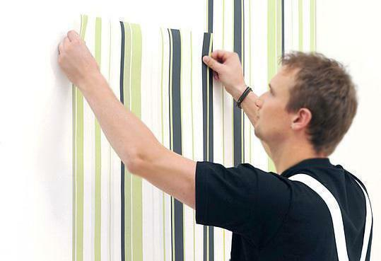 Bonding walls with wallpaper is always a successful use of a budget and environmentally friendly coating for interior decoration of a room