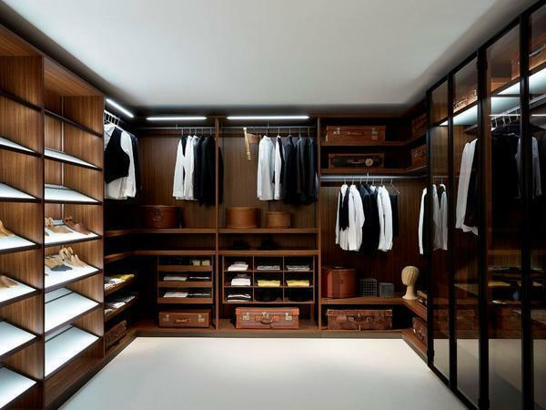 It is not difficult to create a dressing room, the main thing is to plan the interior of the room in advance and prepare a detailed work plan
