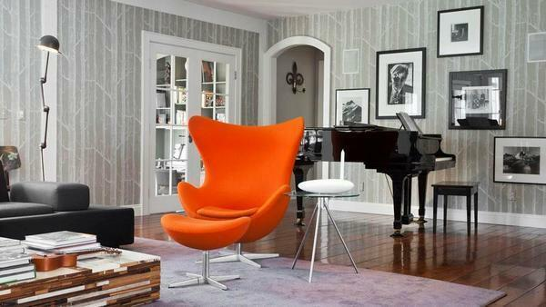 Armchair in the living room: a small room, soft and stylish, inexpensive and beautiful, compact furniture, small photos