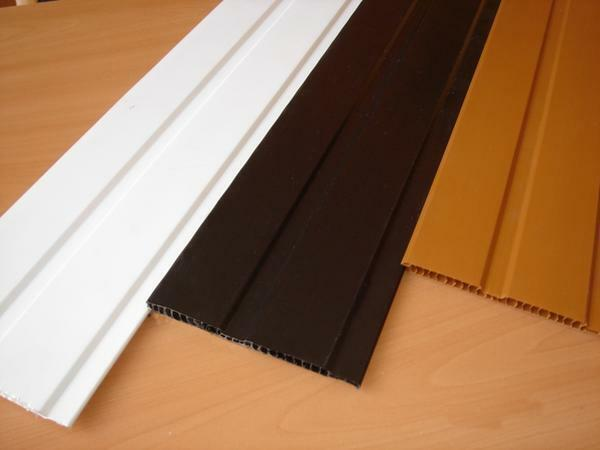 You can get acquainted with the types and characteristics of plastic panels in specialized stores