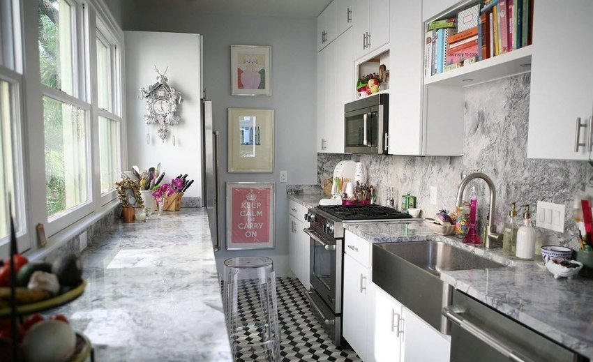 Decorating the walls in the kitchen: design options, the choice of materials
