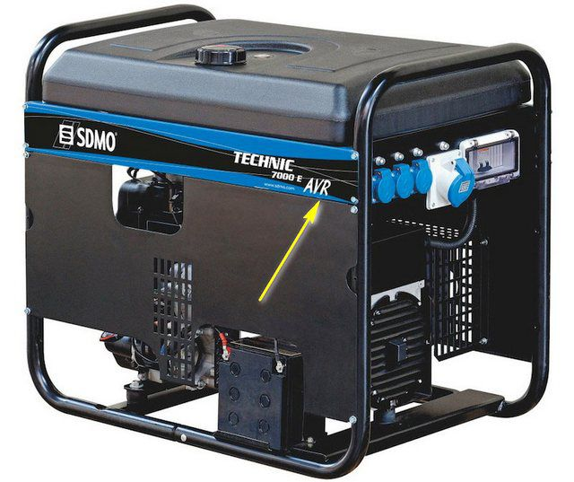 It is desirable to purchase a generator with a voltage stabilization unit - AVR