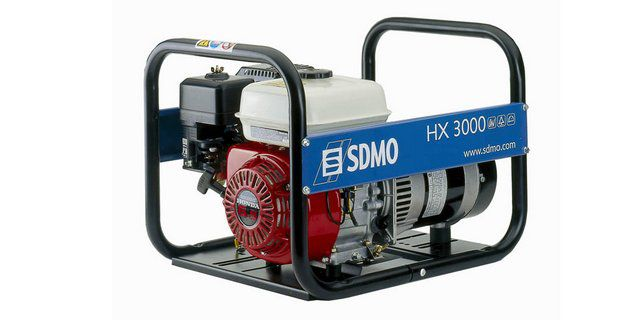 An excellent mini-power plant is produced by the French company SDMO