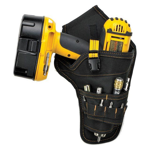 A convenient holster for placing a screwdriver and a snap to it