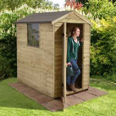 How to build a shed with your own hands