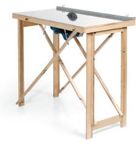 Простой стол для циркулярной пилы своими руками 22