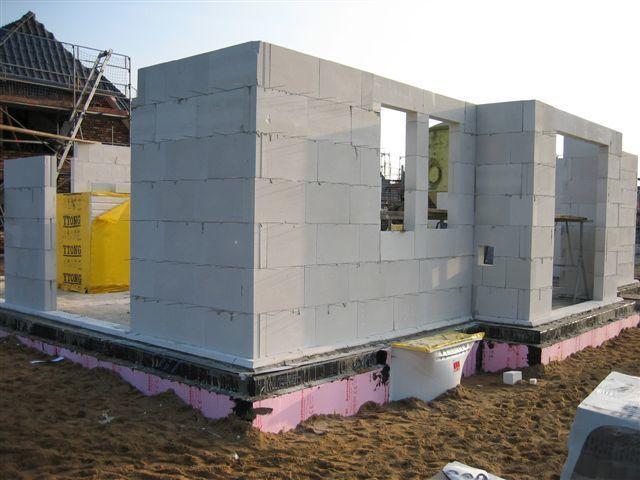 Стройка своими руками дом пеноблоки